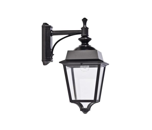 Klassisk utebelysning - Kollektion Place des Vosges 1 Évolution  -  Modell 4, hängande arm, med eller utan sensor