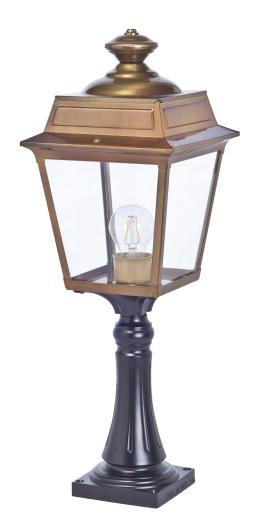 Klassisk utebelysning - Kollektion Place des Vosges 1 Tradition - Modell 7, grindstolpe