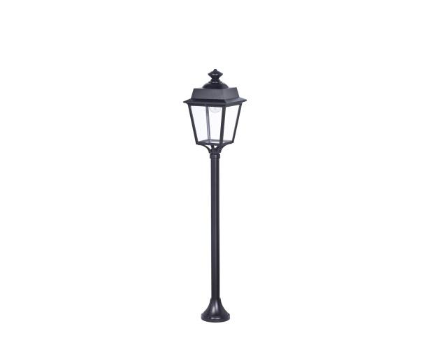 Klassisk utebelysning - Kollektion Place des Vosges 1 Évolution  - Modell 10, pollare, stolpbelysning