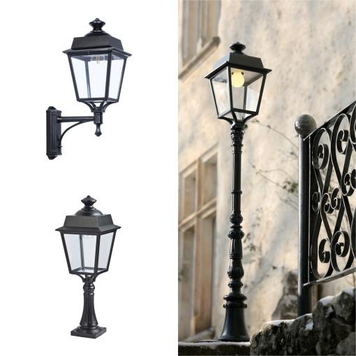 Köp din utebelysning - vacker design med hög skyddsklass - Kollektion Place des Vosges 1 Évoultion