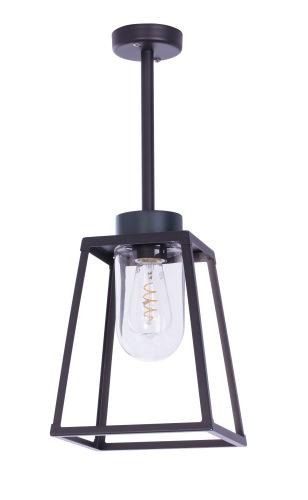 Taklampa - Modern utomhusbelysning - Kollektion Lampiok - modell 2 i lackerad aluminium - återförsäljare Alegni Interiors Stockholm