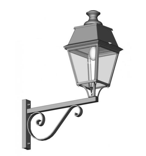 Klassisk utebelysning - Kollektion Avenue 4 - Modell 3, vägg - hos  Alegni Interiors Stockholm