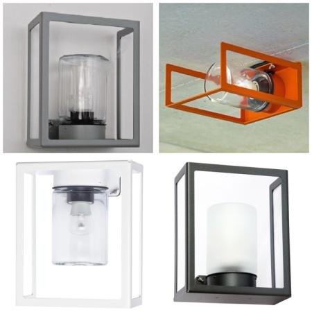 Modern utebelysning för vägg - Kollektion Hugy - LED - IP65 -  hos Alegni Interiors, Stockholm
