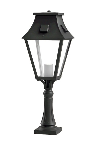 Kort stolpbelysning - Kollektion Vieille France - Modell 5 , pollare