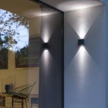 Fasadbelysning med intergrerad led - Kollektion Klint - hos Alegni Design Interiors