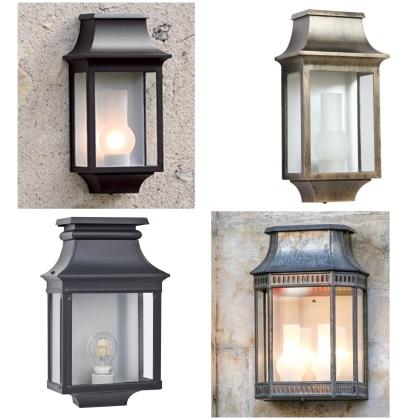 Fasadbelysning - Kollektion Louis Philippe