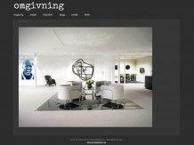 Omgivning - en stilren och enkel hemsida