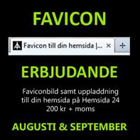 Skaffa en favicon till din hemsida - så här skapar & lägger du till en favicon