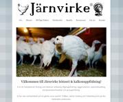 Ny hemsida sökmotoroptimerad och repsonsiv för Järnvirke AB i Varberg, Halland
