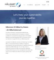 Ny sökoptimerad och responsiv hemsida för Hållbart by Skalare i Malmö, Skåne