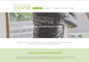 Ny sökoptimerad hemsida för Halmstadfönster - Hemsida24 seo- & webkonsult Anna Åxman