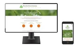 Ny sökmotoroptimerad och mobilvänlig hemsida för Biopatisk Kinesiologiskola i Laholm - seo- & webbyrå Anna Åxman ett sätt att synas