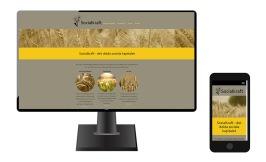 Mobilvänlig och sökmotoroptimerad hemsida för Socialkraft i Göteborg