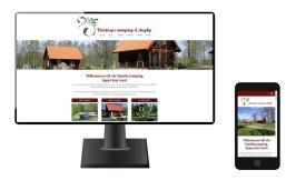Ny hemsida för Våxtorps camping och stugby
