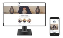 Ny & sökoptimerad hemsida för LillYoga & Massage i Tvååker - en hemsida av Anna Åxmanandrg -  Anna Åxman