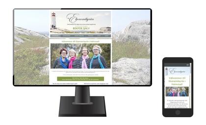 Ny, mobilvänlig och sökmotoroptimerad hemsida för Ekonomibyrån i Halmstad