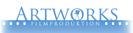 Logotyp för filmbolaget Artworks