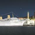 MS Kungsholm vid Amerikakajen