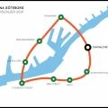 Linjekarta för Stadsbana Göteborg (publ Göteborgs-Posten 18/12-11)