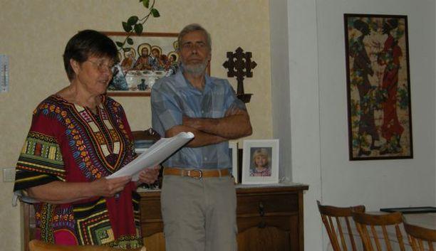 Margareta och Bengt Johansson, husets nuvarande ägare, berättar om Hedvig och prästgården 2013.