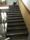 Borttagen gammal matta samt lister och slipning av trappa