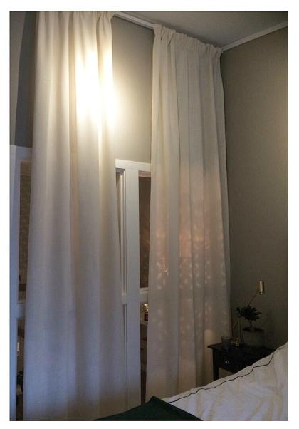 Linne gardiner är alltid ett säkert kort, och för tillfället väldigt trendigt.