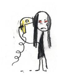 """""""Bad hair day""""  för Bare Magazine, klicka och se det fina slutet..."""