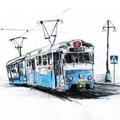 Femmans spårvagn/tram
