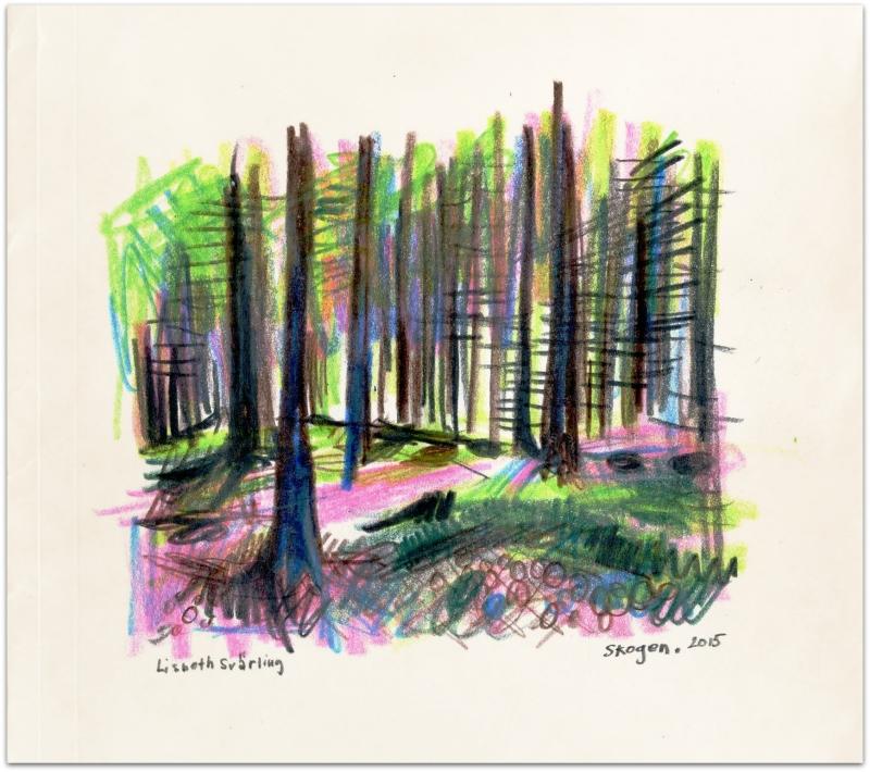 Glänta i skogen