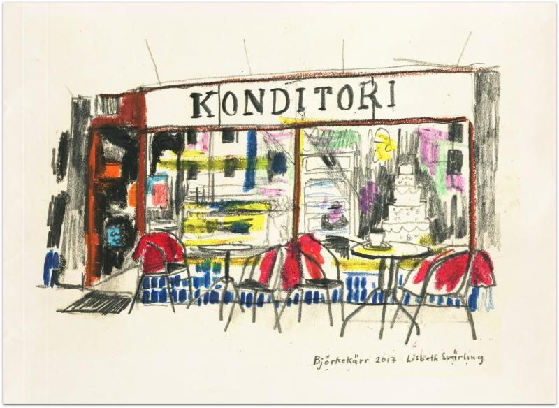 Jerkstrands konditori/Our coffee shop