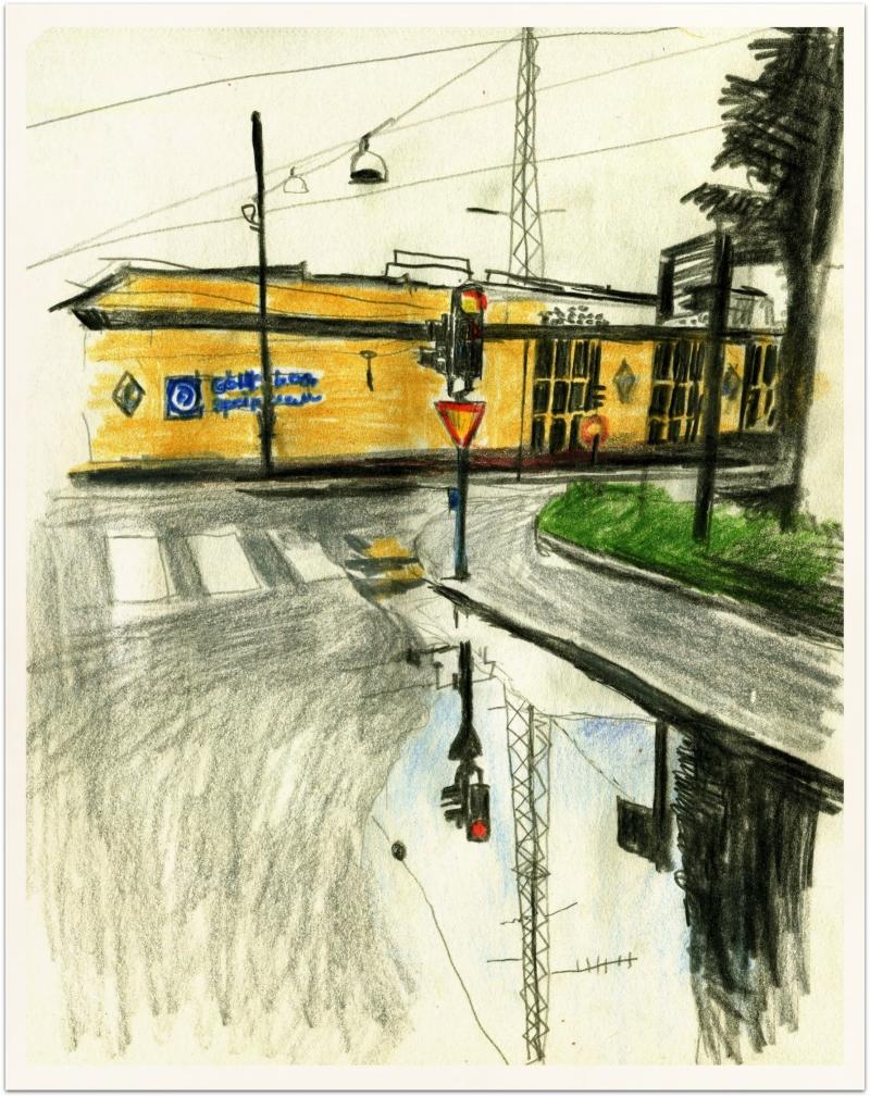 Spårvagnshallarna/Garage for trams