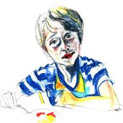Porträtt av barn