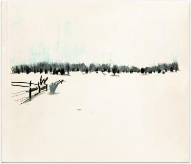 Alvaret Öland vinter