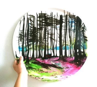7. Skogen 46 cm,  490 kr