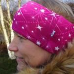 Ceris med stjärnblixtrar Fodrat Pannband