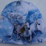 Hästar i berget Fodrad