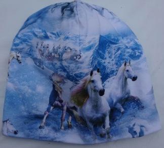 Hästar i berget Fodrad - 44-48 cm. Ca: 1 år-2 år.