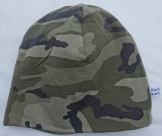 Camouflage Grön Fodrad - 34-38 cm.  Ca: 0-2 månader