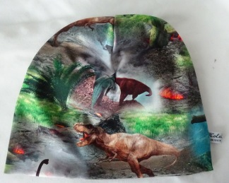 Dinosaurie Färgglad - 38-44 cm. Ca: 3-10 månader