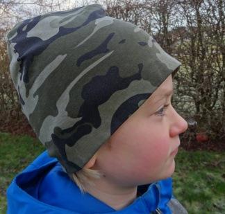 Camouflage Grön - 34-38 cm. Ca: 0-3 månader