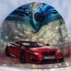 Sportbil BMW - 54-58 cm. Större storlek