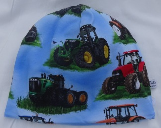 Traktor Stor Fodrad - 34-38 cm.  Ca: 0-2 månader