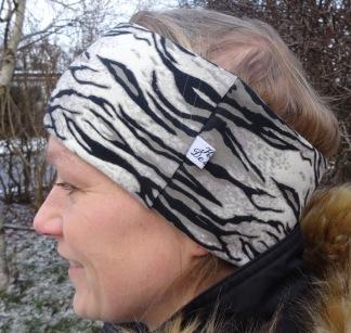 Jeopard mönster Fodrat Pannband - För ungdom och vuxen
