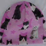 Katter på Rosa botten