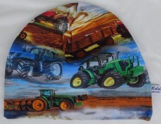 Traktor med släp - 38-44 cm. Ca: 3-10 månader