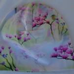Blommor Körsbär