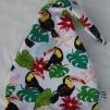 Svansmössa-Tukan fågel - 52-55 cm Ca: 5 år och uppåt