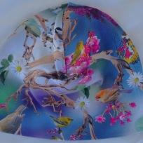 Blommor-Ceris ,Vita blommor o Fåglar