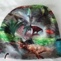 Dinosaurie Färgglad