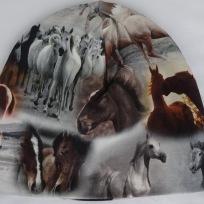 Hästar på Grå botten